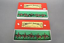 Two boxes of military figures, Military Pageant, Jackleg England