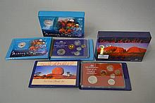 Royal Australian Mint Year of the Outback along with a  six coin proof set