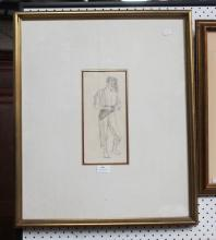 Norman Lindsay, pencil drawing, see page 18 Norman Lindsay Impulse to Draw by Lin Bloomfield (Bay Books 1984)