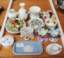 Collection of porcelain