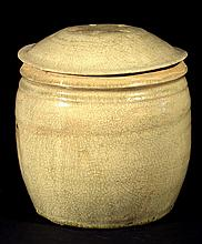 15th C. Sawankahaloke Covered Jar
