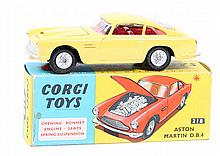 Corgi Toys Aston Martin D.B.4 (218). A scarce exam