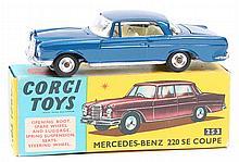 Corgi Toys Mercedes Benz 220SE Coupe (253). An exa