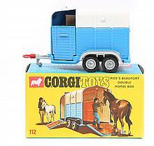 A Corgi Toys Rice's Beaufort Double Horse Box (112