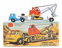 A Corgi Major Toys Gift Set No.27. Machinery Carri