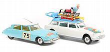 2 Corgi Toys. Citroen DS19 Monte Carlo Rally, in l