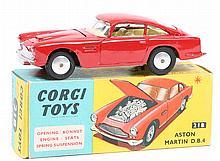 Corgi Toys Aston Martin D.B.4 (218). An example in