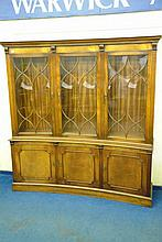 REPRODUCTION GEORGIAN STYLE MAHOGANY ASTRAGAL