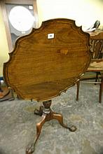 REPRODUCTION GEORGE III STYLE CIRCULAR TILT TOP