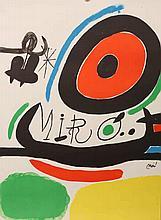 Joan Miro, Untitled, print, unframed. 75.5cm by 56cm
