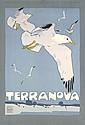 Original 1900s Ludwig Hohglwein TERRANOVA Poster