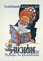 Original 1940s German Book Poster Plakat GAUCHEL