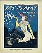 Original 1921 DAS PLAKAT Munich Edition SCHNACKENBERG