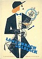Original Postr Maquette Artwork 1920s ART DECO !