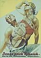 Original 1930s German Sun Tanning POster HOHLWEIN ART