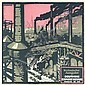 Original 1910s German Export Revue Poster SCHULPIG Art