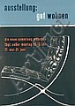 Great 1950s Furniture Barcelona Chair Home Expo Poster