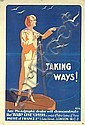 Old Original 1920s PATHE CAMERA Poster London