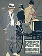 RARE ORIGINAL 1908 Ludwig Hohlwein PKZ Poster Plakat