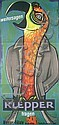 Original 1950s Klepper Clothing Poster Parrot