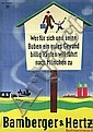 Original 1930s Bamberger Fashion Poster EHLERS