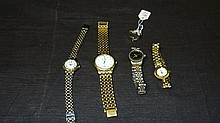 Lot Includes Ring and Watches.