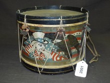 Civil War Era, Child's Patriotic Drum