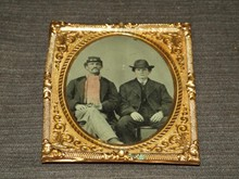Civil War Era Tintype, 2 Men