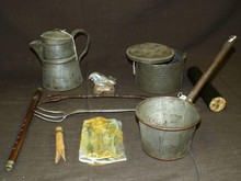 Lot of Assorted Civil War Era Soldier Items