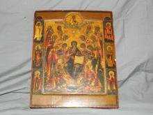 Russian Icon. Circa 19th Century.