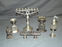 Sterling Silver Judaica Lot.