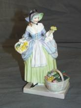 Royal Doulton Figurine. Spring Flowers.