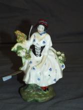 Royal Doulton Figurine.The Chelsea Pair - Woman.