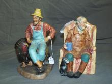 Royal Doulton Figurines. Lot of 2