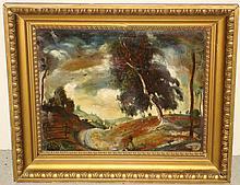 Gyula Rudnay  (1878 - 1957) Oil on Canvas.