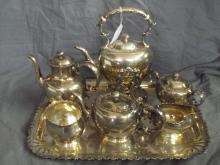 Gorham Louis the XVth Pattern Tea Set.
