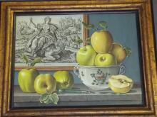 Rogers Turner, Fruit Still Life, Trompe L'Oeil