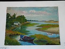 Elizabeth Galbraith Jewell, Oil on Canvas