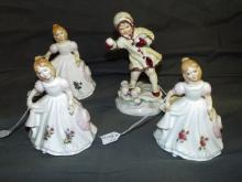 Royal Doulton Figurines. Lot of 4.