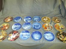 Collectors Plates. Lot of 18.