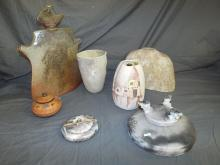 Pottery Pieces. Lot of  7.