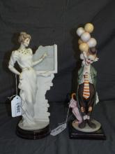 Armani Porcelain Figurines Lot of 2.