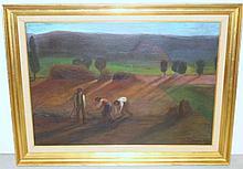 Karoly Kernstock  (1873 - 1940) Oil on Canvas.
