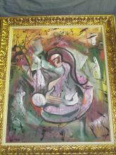 Lewis Vandercar  (1913 - 1988) Oil on Canvas