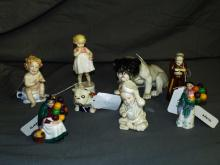 Quality Makers - Smaller Figurines. Lot of  8