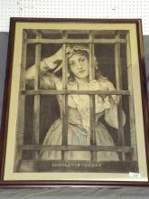After Charles Muller, Print of Charlotte Corday