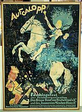 Ludwig Lutz  Ehrenberger 1878 - 1950. Poster.