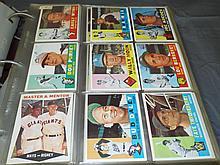 1960 Topps Baseball Near Complete Set.