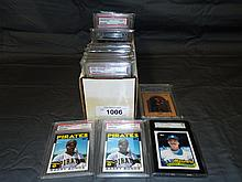 SGC Graded Baseball and Basketball Card Lot.