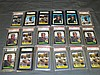 Barry Bonds Graded Card Lot.